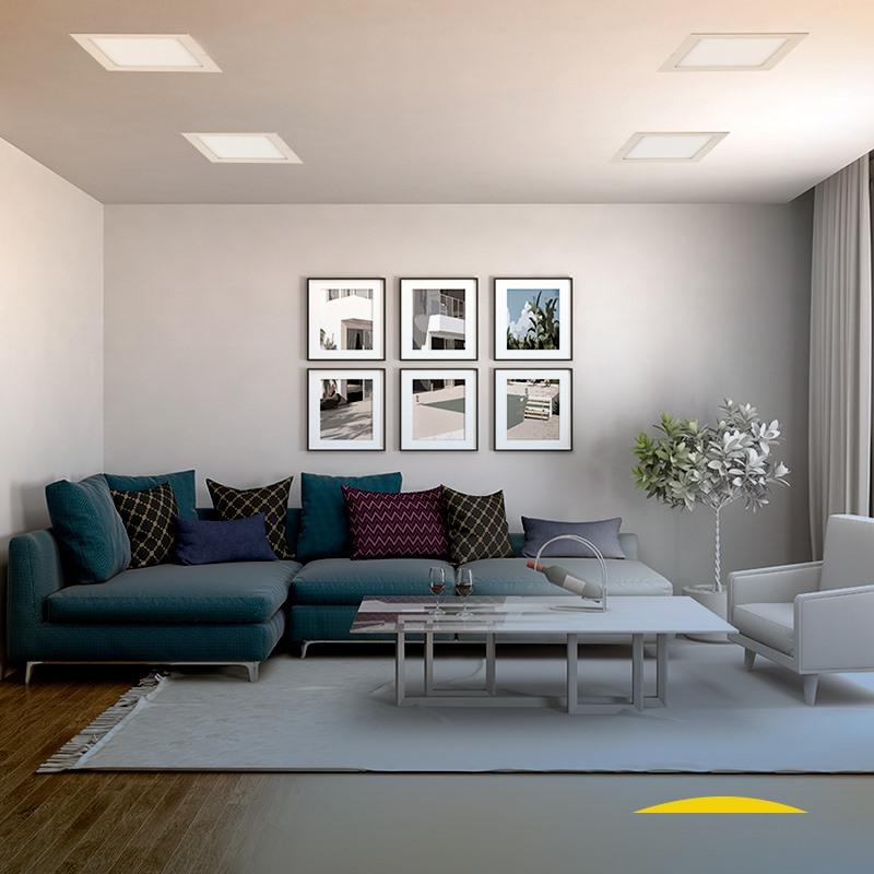 Sala com Painel de LED