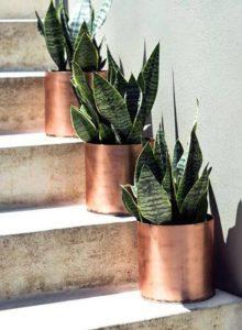 decoração rose gold - diy - vaso decorativo